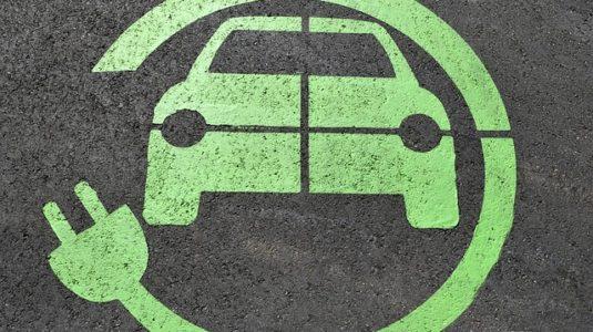 punto de recarga para coches electricos
